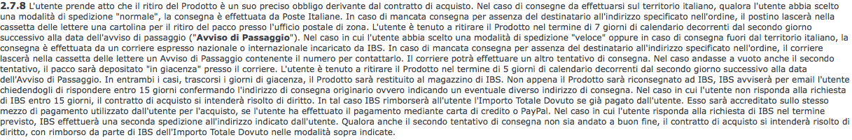 Ibs - paragrafo